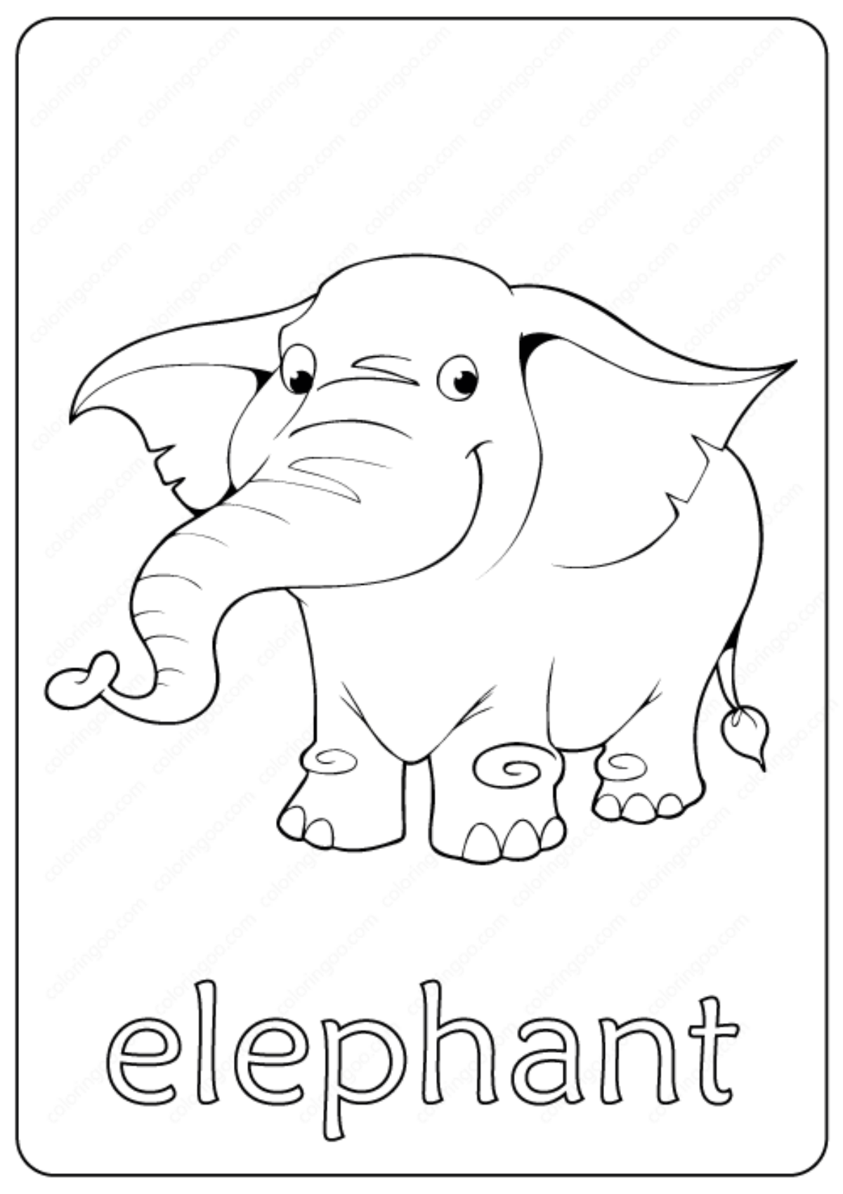 Free Printable Donkey Coloring Pages For Kids | Nativity coloring ... | 1699x1200