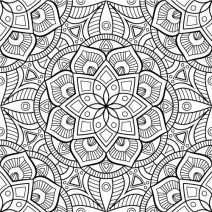 Beautiful Mandala Coloring Pages PDF