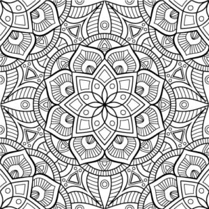Beautiful Mandala Coloring Pages PDF