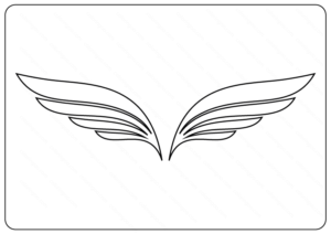 Free Printable Wings Coloring Pages