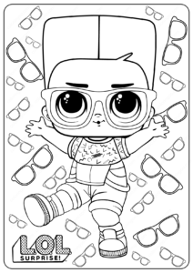LOL Surprise Boy Next Dor Coloring Pages