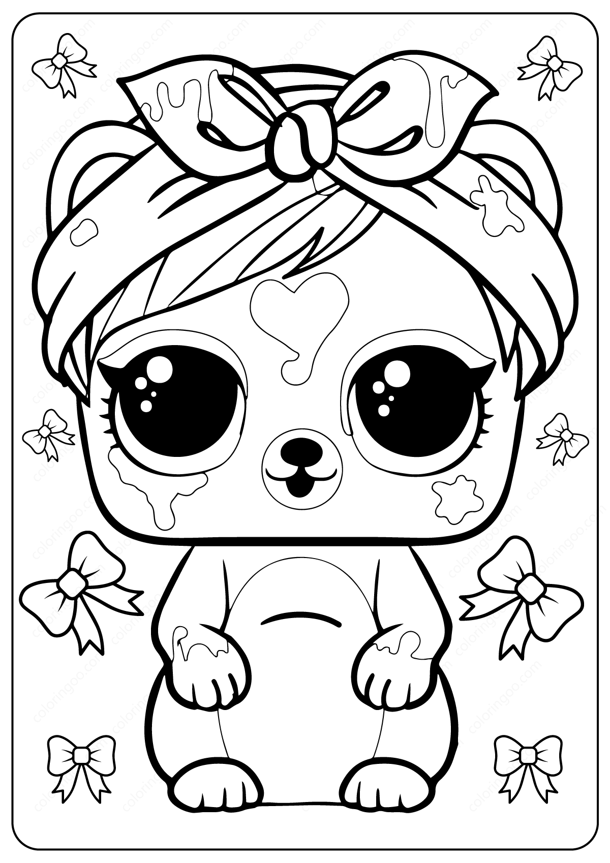 Free Printable LOL Surprise Coloring Pages