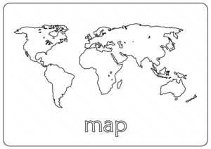 map coloring pages
