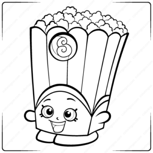 Free Printable Shopkins Coloring Pages