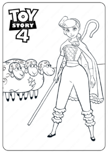 Toy Story Ducky and Bunny Dot to Dot Coloring Pages