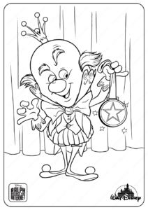 Ralph Breaks The Internet King Candy Coloring Pages
