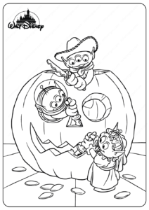 Printable Disney Toy Story Forky Coloring Pages