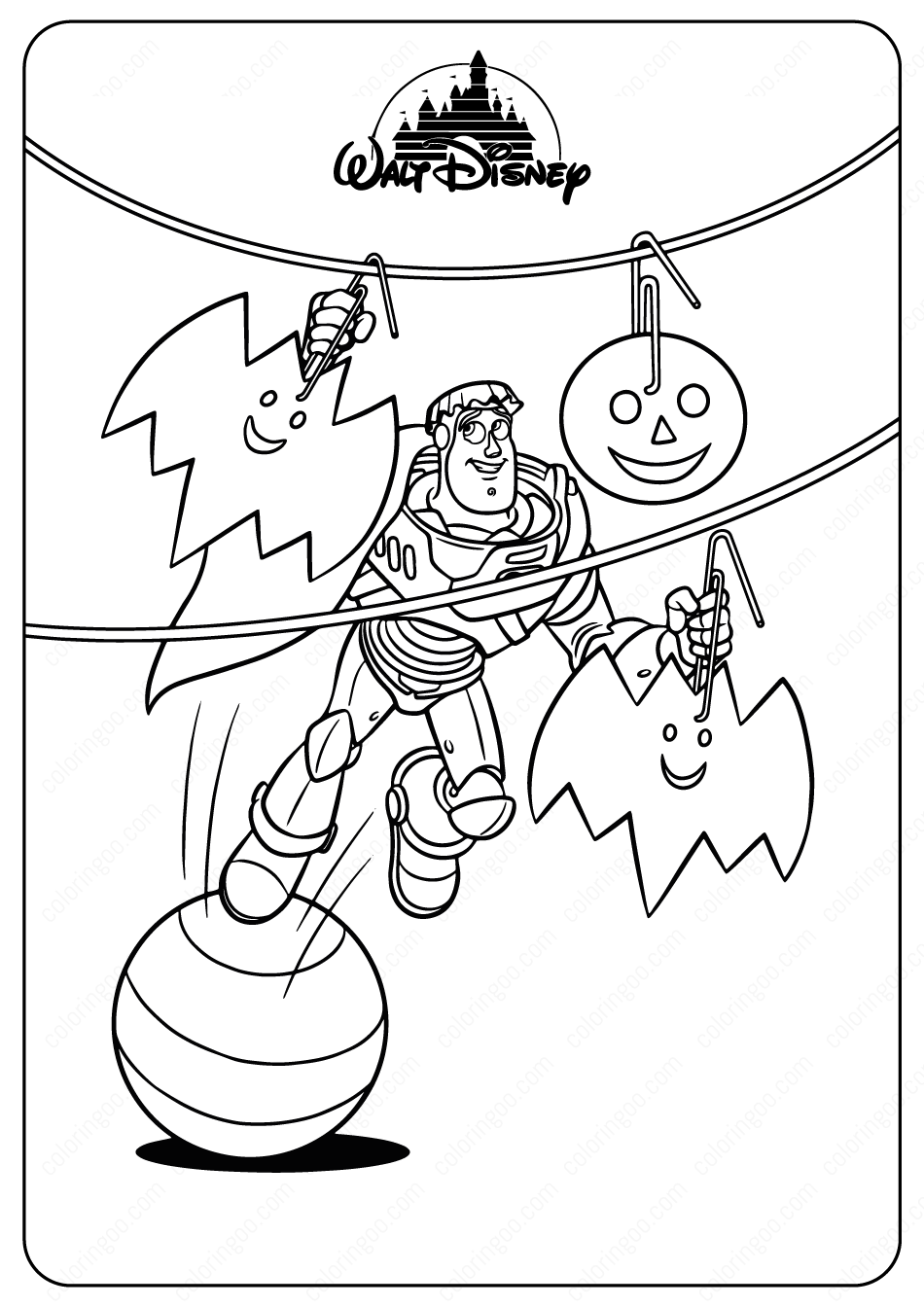 Coloring Pages Halloween Forids Disney Free – Dialogueeurope | 1344x950