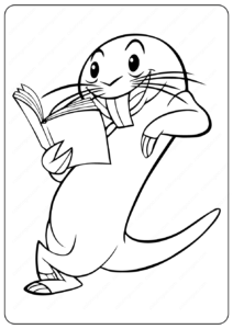 Disney Kim Possible Rufus Coloring Pages