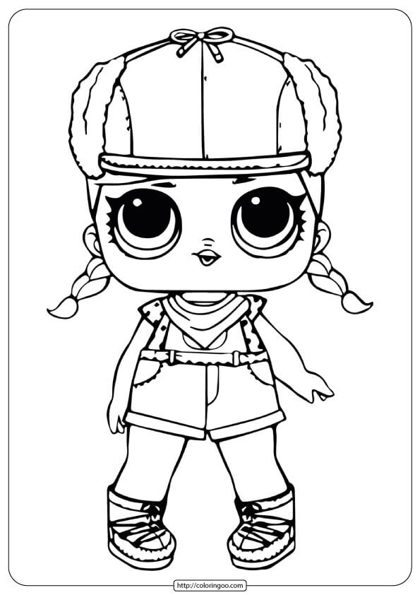 Printable Lol Surprise Coloring Pages