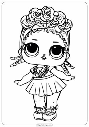 LOL Surprise Doll Coloring Pages Vacay Babay MGA Entertainment Inc. (short for Micro-Games America Entertainment) is a manufacturer of children's toys and entertainment products founded in 1979. Its products include the Bratz fashion doll line, BABY born, L.O.L. Surprise!, Num Noms and Poopsie Slime Surprise. MGA also owns Little Tikes.
