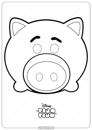 Disney Tsum Tsum Pig Hamm Mask