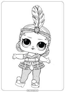 Free LOL Surprise Doll Coloring Pages