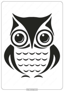 Printable Animals Owl Coloring Pages