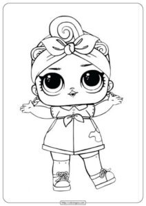 Printable Lol Suprise Doll Coloring Page