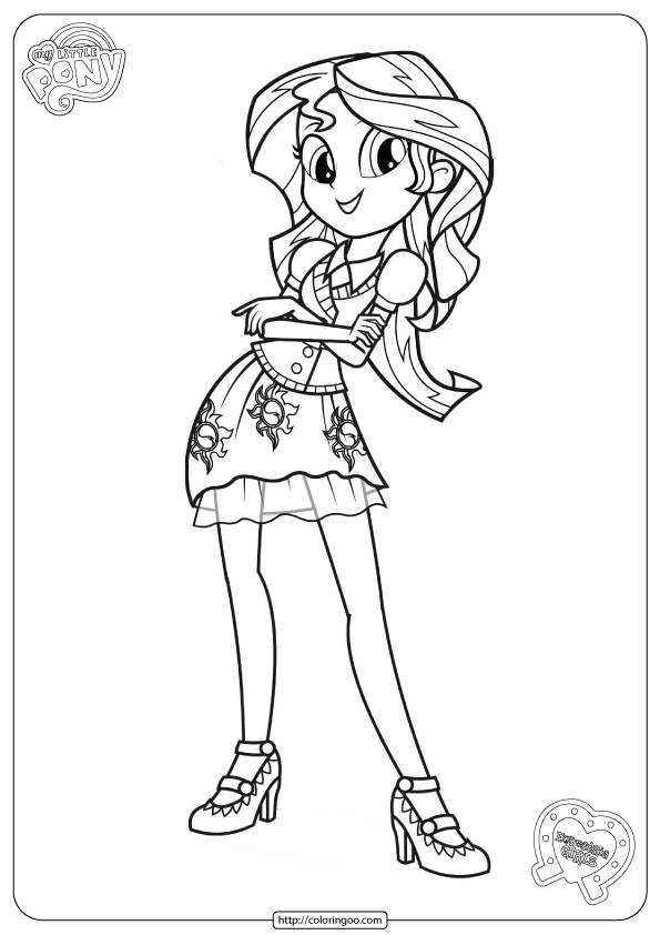 My Little Pony Friendship Games Coloring Pages