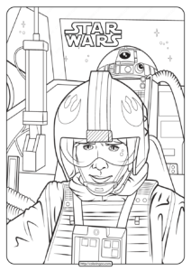 Printable Star Wars Luke Skywalker Coloring Pages