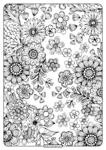 Printable Coloring Book Pages for Adults 002
