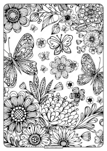 Printable Coloring Book Pages for Adults 005