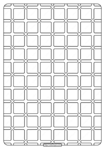 Free Printable Geometric Pattern PDF Book 002