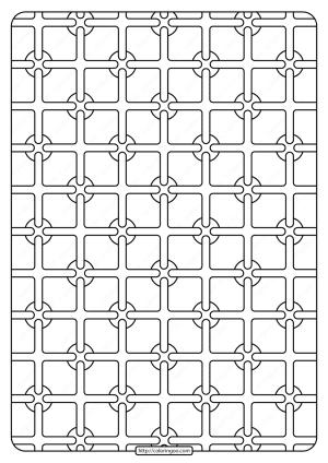 Free Printable Geometric Pattern PDF Book 003