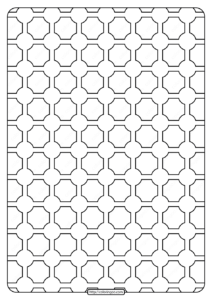 Free Printable Geometric Pattern PDF Book 005