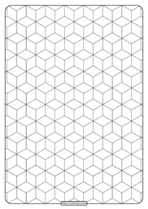 Free Printable Geometric Pattern PDF Book 007
