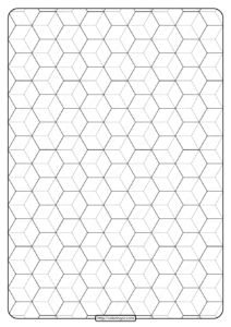Free Printable Geometric Pattern PDF Book 008