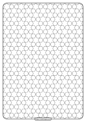 Free Printable Geometric Pattern PDF Book 012