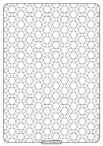 Free Printable Geometric Pattern PDF Book 014