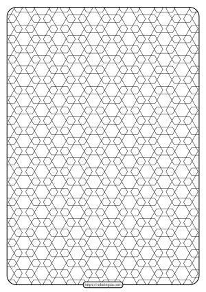 Free Printable Geometric Pattern PDF Book 014