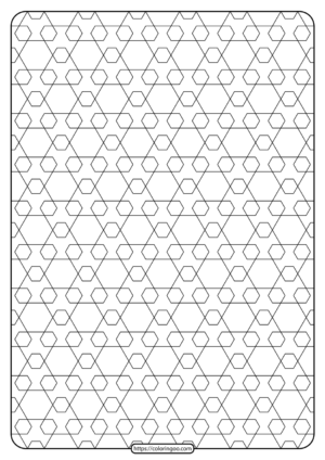 Free Printable Geometric Pattern PDF Book 015