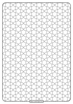 Free Printable Geometric Pattern PDF Book 016