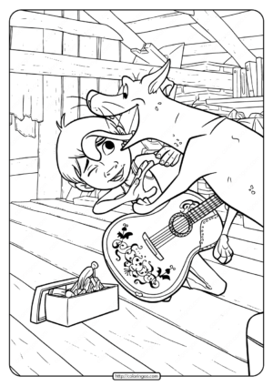 Printable Disney Coco Coloring Pages