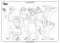 Printable Elena Of Avalor Coloring Book and Pages