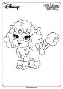 Printable Palace Pets Lacy Pdf Coloring Pages