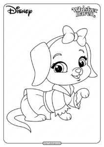 Printable Palace Pets Lucy Pdf Coloring Pages