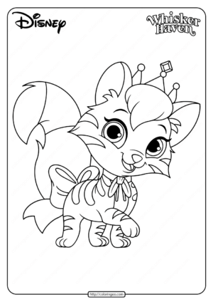 Printable Palace Pets Midnight Pdf Coloring Pages