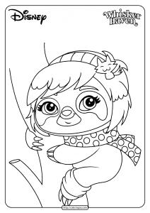 Printable Palace Pets Miss Sophia Pdf Coloring Page