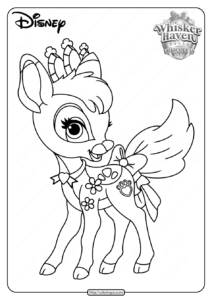 Printable Palace Pets Gleam Pdf Coloring Pages