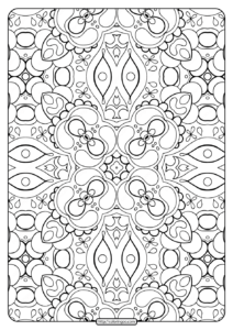 Printable Abstract Pattern Adult Coloring Pages-01