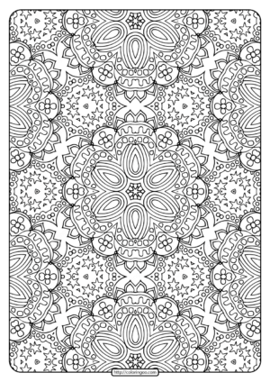 Printable Abstract Pattern Adult Coloring Pages-03