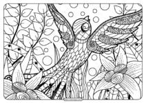 Printable Adult Pdf Coloring Page Book 04