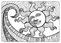 Printable Adult Pdf Coloring Page Book 05