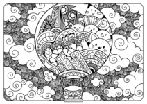 Printable Adult Pdf Coloring Page Book 06