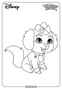 Printable Palace Pets Critterzen Coloring Page