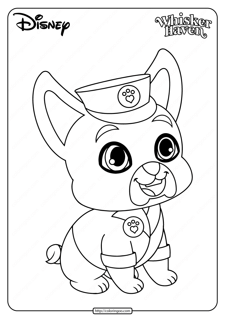 Printable Palace Pets Critterzen Coloring Book