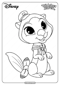Printable Palace Pets Otto Coloring Pages