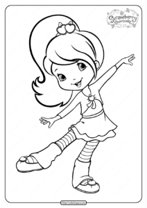 Free Printable Plum Pudding Pdf Coloring Page