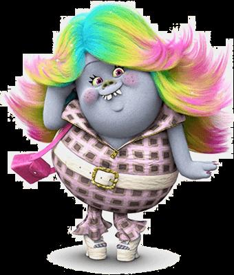 Trolls Lady Glitter Sparkles